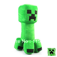 "NEW Hot 12"" Fans-Art Minecraft Creeper Plush Doll 100pcs/lot Wholesale Free EMS Shiping"