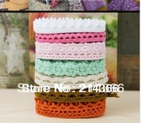 Free shipping DIY 40 yards handmade materials accessories100% cotton laciness trim ribbon