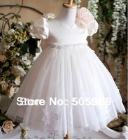 new christmas costumes for kids cute girls princess dress size for the girl 3-8T free shipping