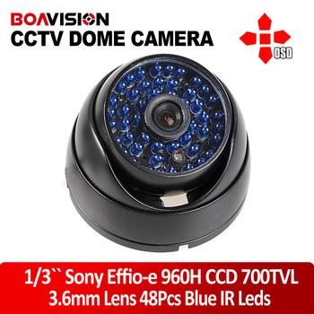 SONY Effio-E 700TVL IR CCTV 48IR ARMOR Waterproof Night Vision Camera 3.6mm lens with OSD Mean