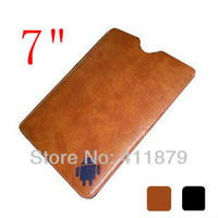 7 inch Leather Case Sleeve Bag for Android Tablet pc