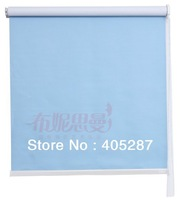Pure color Top quality chain type window curtain  office shade curtain household blinds roller blinds