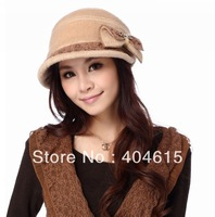 Wholesale  women winter fashionable high quality warm thick polar fleece newsboy hats