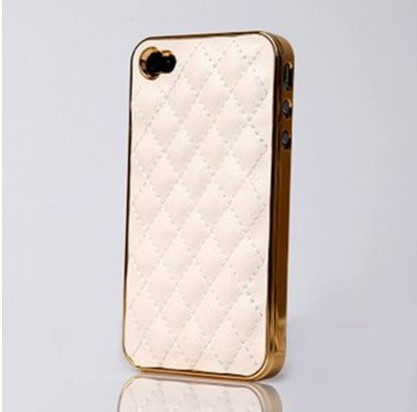 Free shipping Case For 4S Cell Phone Case for iphone 4 Fashion Luxury Design Back Designer Cover and Leather Case for iPhone4