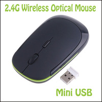 PROMOTION 1200 DPI Ultra Thin 2.4G USB 2.0 Wireless Mouse Slim Mice 2.4G Receiver for Laptop PC Desktop DPI 3 modes adjustable