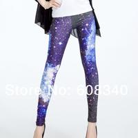 Clearance Sale 2013 Women Galaxy Print pants Skinny Nebula leggings Warm Leggings Female Microfiber High Quality LE-004