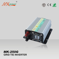 250W on grid inverter, grid tie inverter, 22-60VDC input, micro inverter