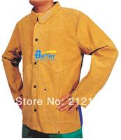 Split Cow Leather Welding Aprons FR Cotton Split Cow Leather Welding Jackets