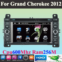 "6.2"" Car DVD player with  GPS navigation Car Stereo autoradio  for JEEP Grand Cherokee 2012 + Free Map"