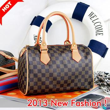 Elegant Style Small Leather Tote Designer Handbag Soft Hand Women's Shoulderbag Drop/Free shipping