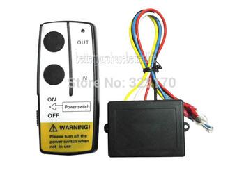 12V Electric Winch Wireless Remote Control System for Truck Jeep ATV Winch