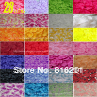 38colors 3000pcs/lot silk rose petals for Wedding Decoration, Romantic Artificial  Rose Petals For Wedding Decoration