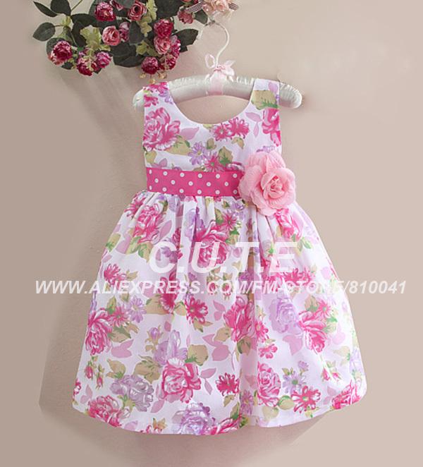 Vestido casuales de niña - Imagui