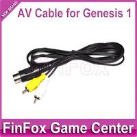 10PCS a Lot AV Audio Video Cable for SEGA Mega Drive 1