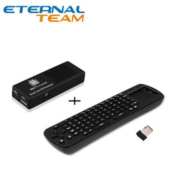 MK808 Mini PC RK3066 Dual Core 1GB RAM 8GB ROM WIFI Android 4.1 google TV BOX + RC12 Air Mouse