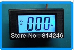 Free shipping,YB5135D three semi-LCD DC digital ammeter  DC200A + 200A 75mV Shunt