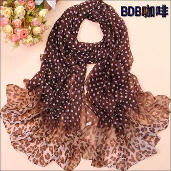 Min. order US$10 Free Shipping chiffon silk scarf sunscreen scarf female silk scarf pashmina wrap