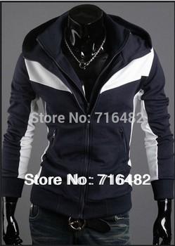 Hot Sale Men's Top Brand Cotton Winter Hoodies Cardigan Dress Outerwear Coat Mens Sports Casual Sweatshirt Jackets M~XXL X-337