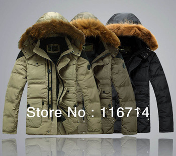 free shipping/ 2013 New fashion men's down coat/best quality mens winter coat/men's down jacket S M L XL XXL XXXL