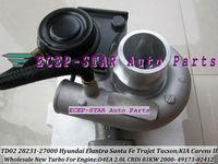 TD02 28231-27000 49173-02410 Turbo Turbocharger For HYUNDAI Trajet Tucson Elantra Santa Fe;KIA Carens II 2000-04 D4EA 2.0L 113HP