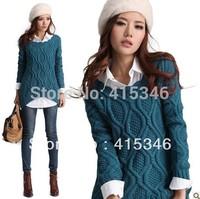 Cardigans Womens Fashion 2014 Pullovers Women Winter Sweater Long Sleeve Sweaters Desigual Free Shipping