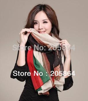 Free shipping Women's fashion Shawl /Sarong /printed scarf,1pc MOQ,2013 new chain design,110*180cm
