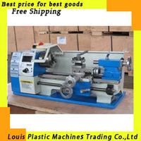 Free Shipping mini lathe Varible speed reaout  lathe  Micro lathe, metalworking machine