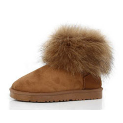 Shoes for Women Fox Fur Boots Sexy Winter Fox Fur Snow Boots(China (Mainland))