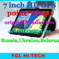 7 Inch  HD800*480 GPS Navigator with poine*r +original Russian box+4GB Navitel 7.0 for Russia,Ukraine,Belarus (YL-950-MTK-NB-R)