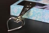 Free shipping 30box Blue Elegant Bottle Openner Wedding Favor WJ023/C