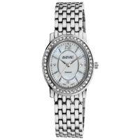 Free Shipping August Steiner Women's Dazzling Diamond Bracelet Watch  Fashion Oval Watch Series