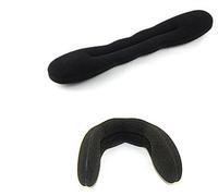 Free Shipping Taenia  Hairwear Black DIY Sponge Hair Accessories Big Size 22.5x6x2cm A16R1 (minimal Mixed styles $5)