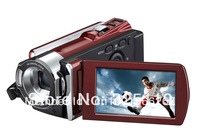 "Hot sell 16 MP mega pixels digital camera 16 x digital zoom 1920*1080P 3.0"" display lithium battery Mini USB 2.0 OEM HDV-604S"