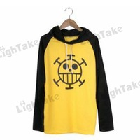 Hot sale One Piece Trafalgar Law  Hoodie Jacket Cosplay Costume for M L XL XXL Size