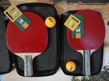 2 pcs ping pong racket K5002 Long top 5 stars TABLE TENNIS RACKET