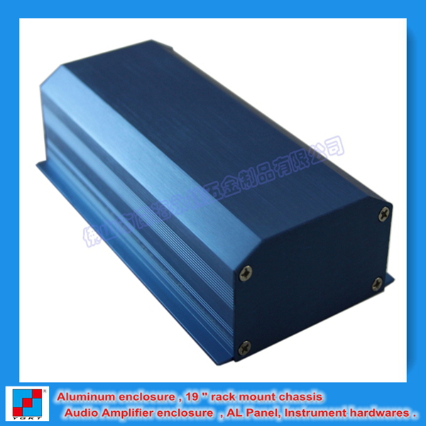 2013 Fashional design OEM blueAluminum Extrusion Enclosure80.5*40*150mm(China (Mainland))