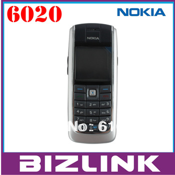 Original nokia 6020 unlocked GSM mobile phone support russian polish Hebrew  menu multi languages!free shipping