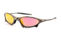 Brand Name Sunglasses Men's/Women's Designer Penny X Metal Grey Eyewear Fire Iridium Lens Polarized Case Box