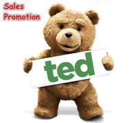 "Original 23"" /60cm Teddy Bear Man's Stuffed Plush toys Ted bear Good quality GT-39"