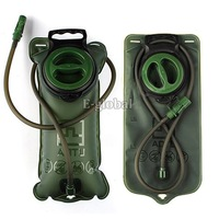Hot Sale 2L TPU Bicycle Mouth Sports Water Bag Bladder Hydration Camping Hiking Climbing Military Green Free Shipping B16 2918