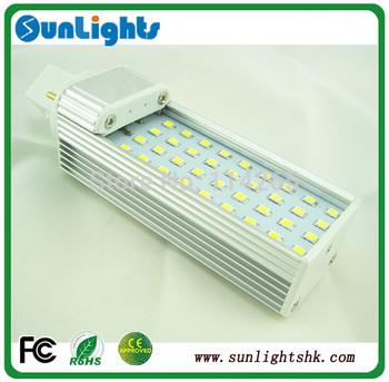 30pcs, 36pcs SMD 5630 LED PL light g24 e27 Horizontal Plug Lamp 15w 12w 2pin/4pin rotative bulb Free shipping