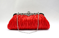 Heart to Heart Sequined Clutch,Evening Bag,Party Bag,Plastic Case,Free Shipping