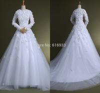 Free Shipping Hot Sale Ball Gown Strapless Court Train Ruffle Organza Wedding Dress wedding gown vestidos noiva BD084