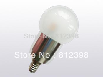 5Watt, E14 Fancy Ball LED bulb,  Samsung LED bulb, clear & frosted glass cover