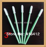 ( Pack of 500 ) Lint Free Micro Foam Swab Soft Foam cleaning clean room swab - Alternative to ITW Texwipe TX742B Swab