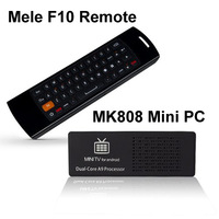 Holiday sale MK808  Android 4.1 Jelly Bean MK808 RK3066 1.6GHz Cortex-A9 dual core stick HDMI Android Mini TV Box With Mele F10