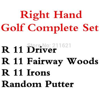 NEW R.11 Golf Complete Set Golf Driver 9loft Fairway Woods Irons Regular Shaft Putter Without Bag