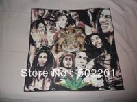 Free Shipping!! Bob Marley Bandana 100% polyester microfibre 1
