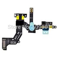 Original Front Facing Camera For iPhone 5 Proximity Sensor Light Motion Flex Cable 10Pcs/Lot Free Shipping