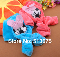 Free Shipping S M L XL 2014 New Teddy VIP dog clothes fall and winter clothes new pet clothes Mickey legs in sweatshirt